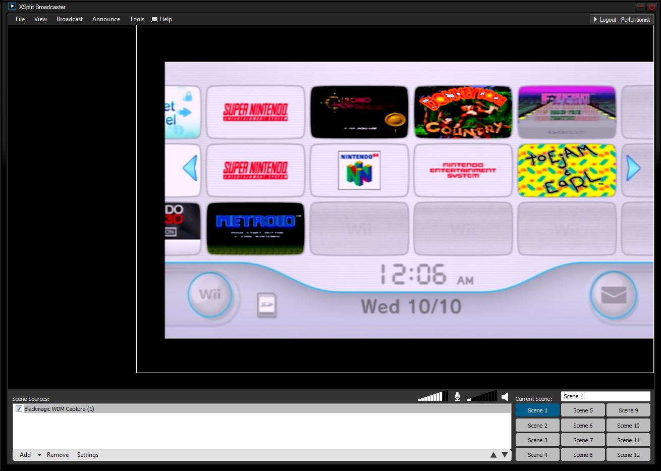 External game capture